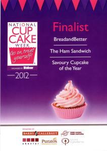 Cupcake Champion Finalist - Savo
